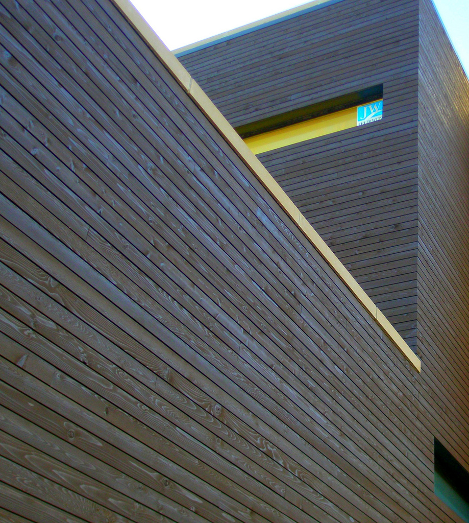 Commercial Wood Cladding ~ Commercial applications wood haven inc