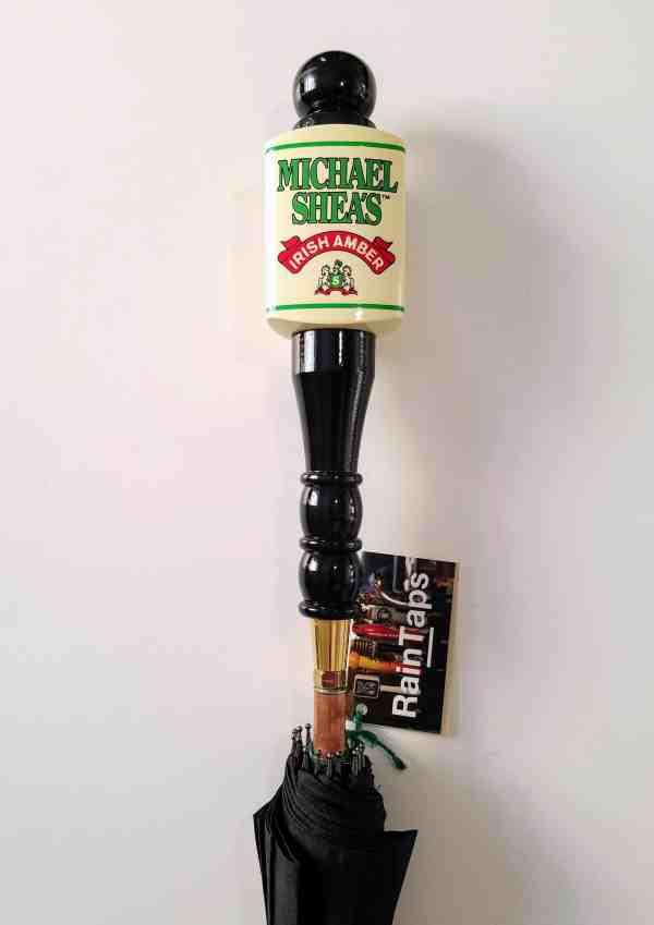 Michael Shea's beer tap umbrella