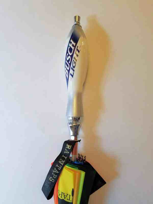Busch Light Beer Tap Handle Umbrella