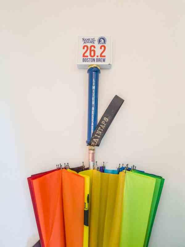 Sam Adams 26.2 Boston Marathon Tap Umbrella