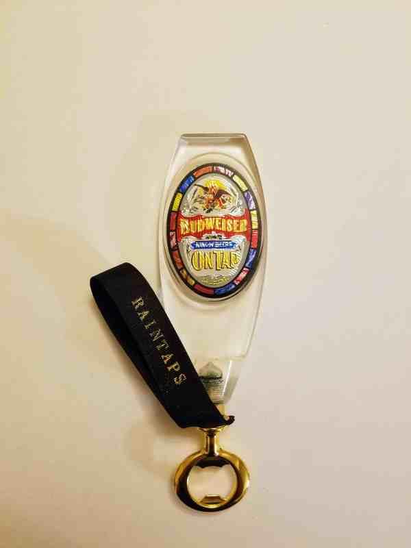 Vintage Budweiser Tap Handle Bottle Opener