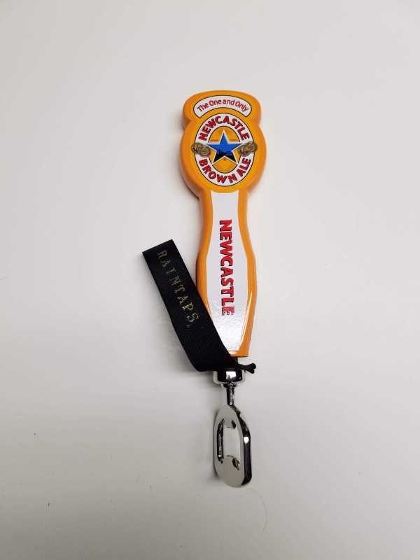 Small Newcastle Brown Ale Tap Handle Bottle Opener