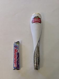 Large Plastic Stella Artois Tap Handle