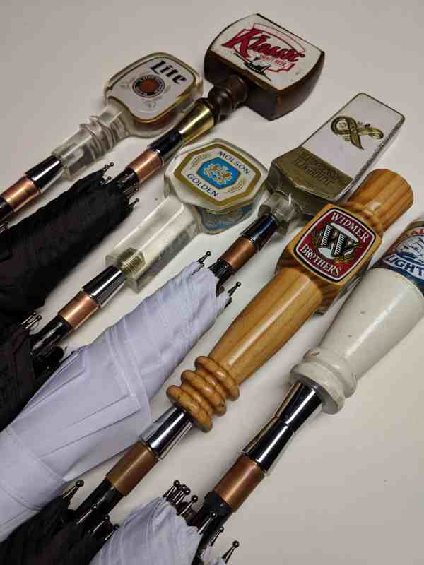 Blind Box Vintage Beer Tap Handle Mini Umbrellas