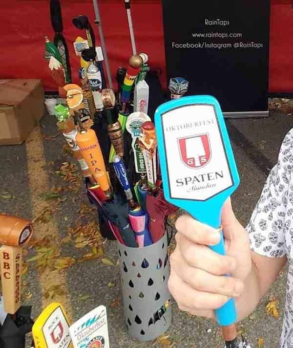 Spaten Oktoberfest Tap Handle Umbrella