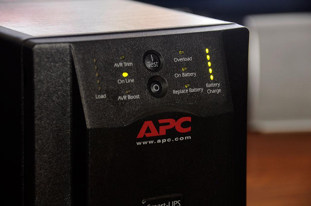 APC SmartUPS 750 Battery Replacement | RainyDayMagazine
