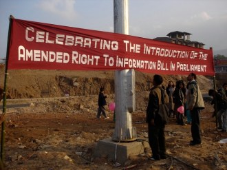 December 2004, celebrations at Khyndai Lad when amended and strong RTI bill was introduced in the parliament. Khyndai Lad construction would also be the object of first Right to Information application in Meghalaya on 13th October 2005, the RTI Act became operational