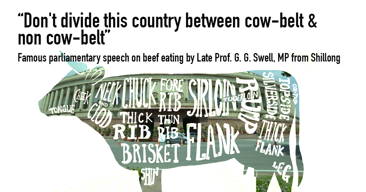 Don't divide this country between cow-belt & non cow-belt