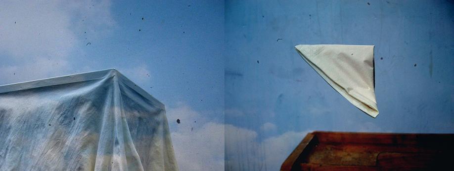 "<i><font size=""3"">Bye-bye bird</font></i><br> mustevedos / giclée<br> 28 x 74 cm, editio / edition 8+1<br> 2012"