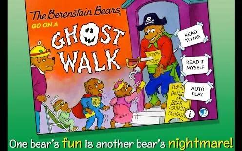 Berenstein Bears Go on a Ghost Walk