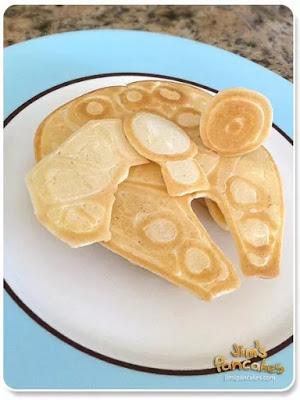 millenium falcon 3D pancake