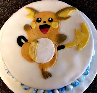 Raichu Birthday cake