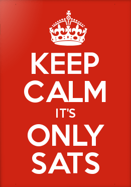 Keep calm it's only SATS