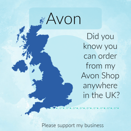 did you know you can order from my Avon Shop anywhere in the UK?