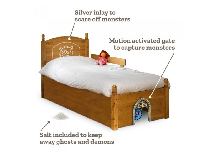 a monster proof kids bed