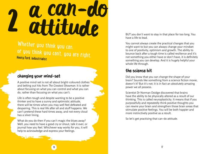 pages from Be Happy Be You