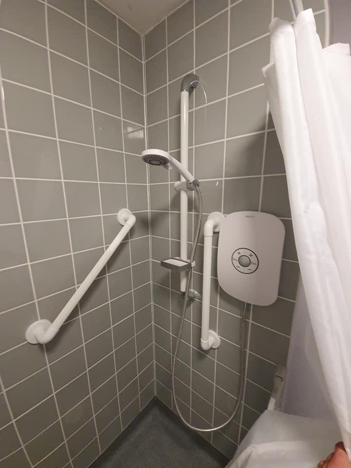 my new shower.