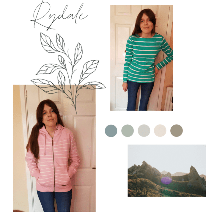 Rydale top and hoody