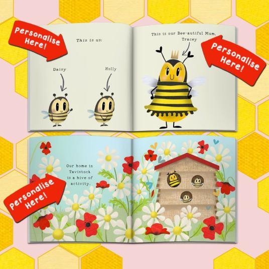 personalised book for mum