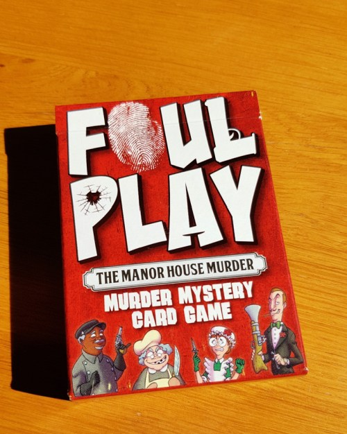 foul play card game pack