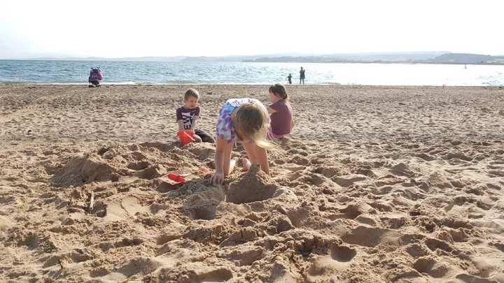 uk holidays, a beach in south devon