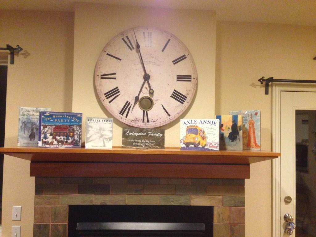 January books on mantle