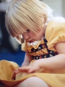 Liz when little