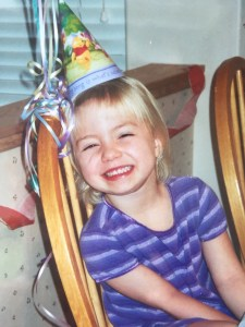 Julia 5 year birthday