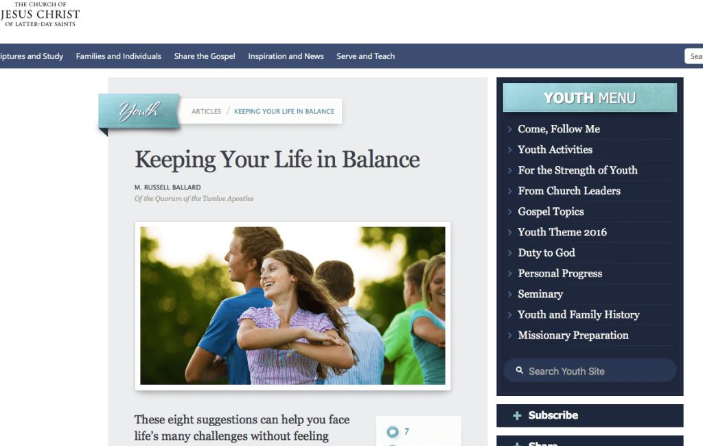 Summer theme Balance youth priorities Ballard