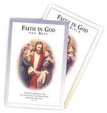 Faith in God booklets