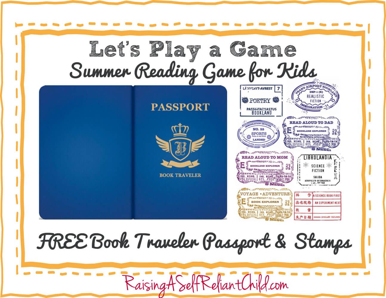 Free Children S Summer Reading Game Bookland Travel