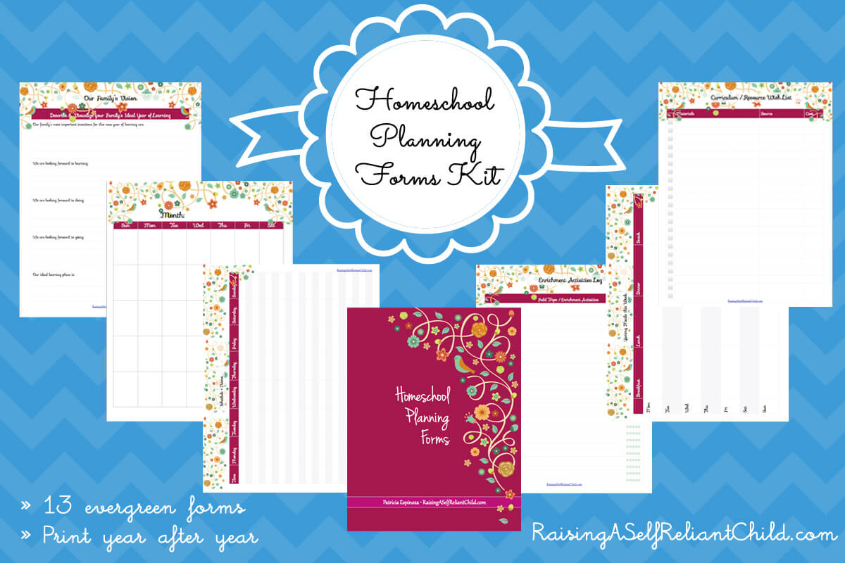 Free Homeschool Planning Pages Printables T