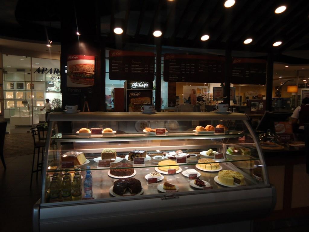 McCafe counter