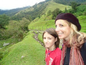 Lainie & Miro in the beautiful Cocora Valley at Salento