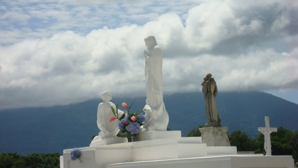 Cemetery in Nicaragua during Day of the Dead.