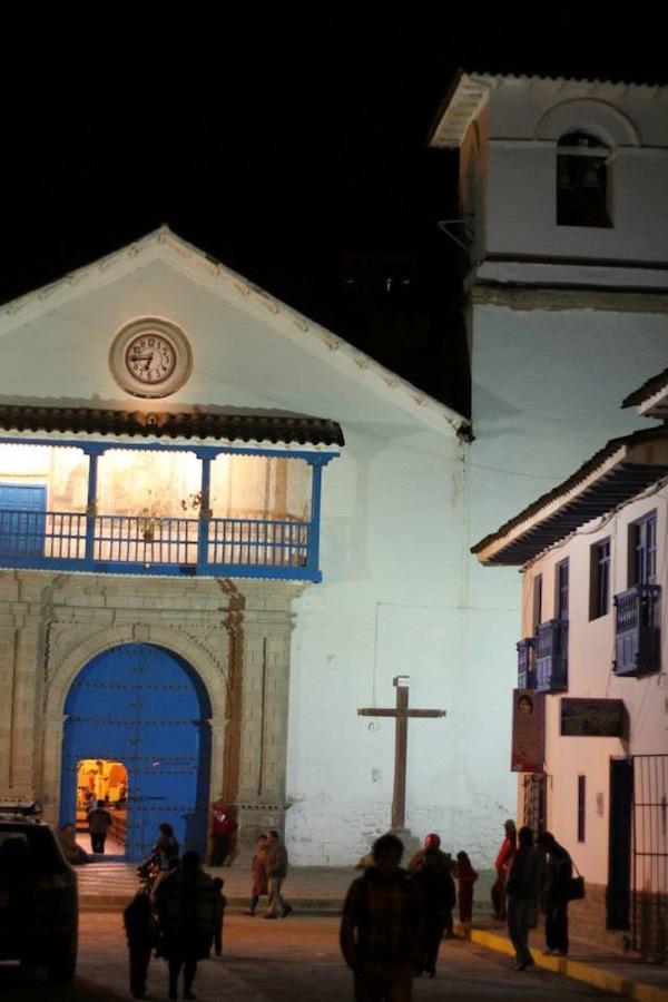 Paucartambo - the church