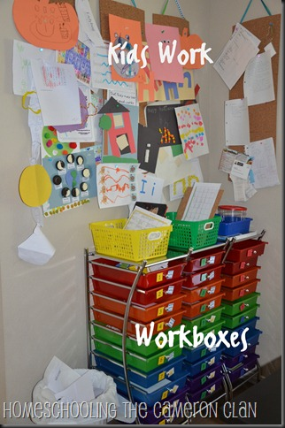Workboxes and Kids Work