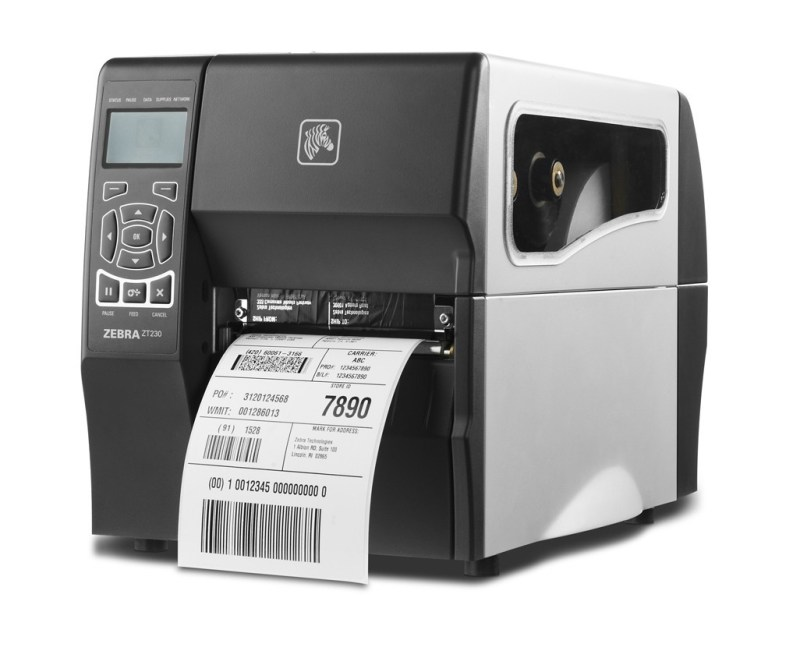 Zebra ZT230 203dpi Thermal Transfer + Ethernet + Peel
