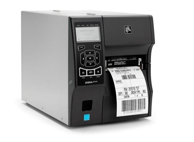 Zebra ZT410 203dpi Thermal Transfer + Ethernet, Bluetooth, Cutter