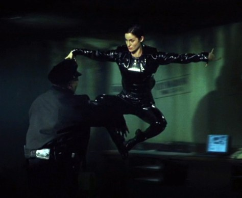 The Matrix Bullet Time
