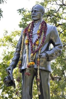 John Pennycuick statue in Madurai PWD premises
