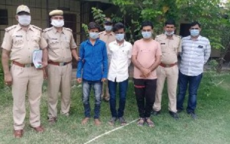 This vicious Naqbajan gang was caught in Jalore, sensations will fly away
