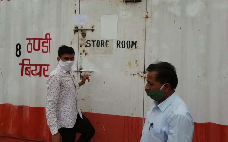 Illegal liquor shop sealed here ... know the case