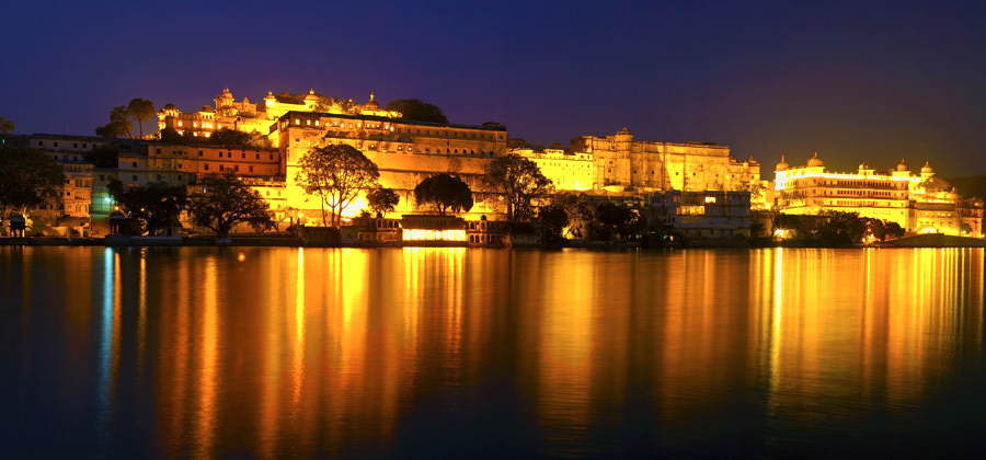 Udaipur City Palace in Rajasthan