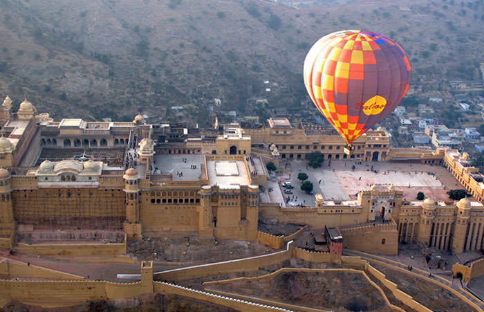 Hot Air Ballooning in Jaipur
