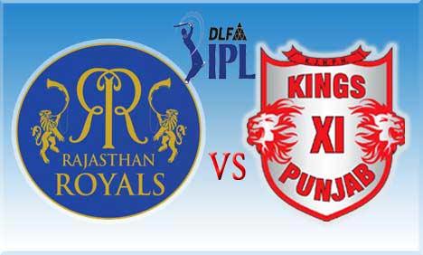 Rajasthan Royal Vs Kings Xi Punjab Match Schedule Venue Timings
