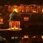 Alwar City Palace Pond