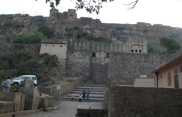 Entry to the Ranthambore-Fort