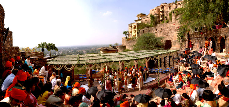 Neemrana Fort Wedding