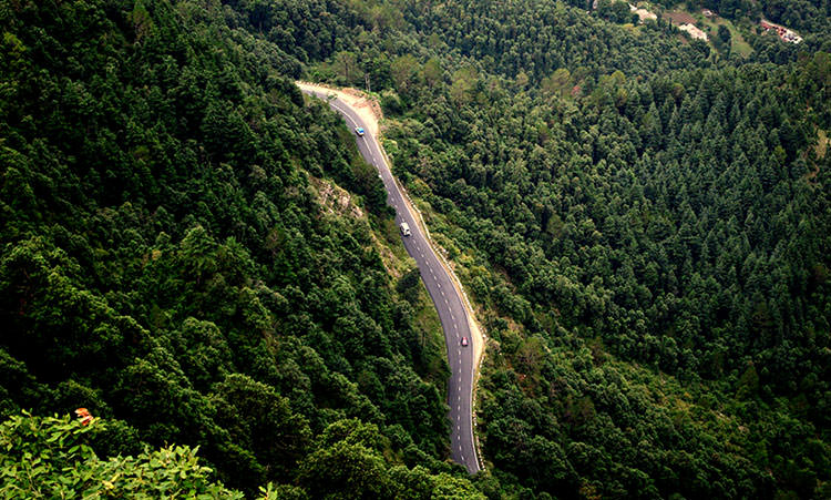 Shimla Chandigarh Highway